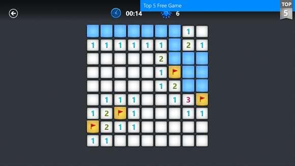 Microsoft Minesweeper Windows 10 Game