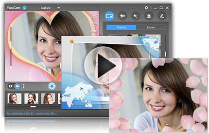 frames scenes cyberlink youcam 7