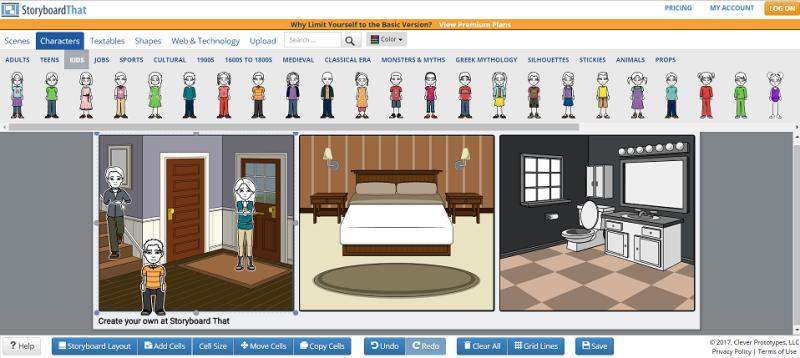 StoryboardThat Storyboard Creator