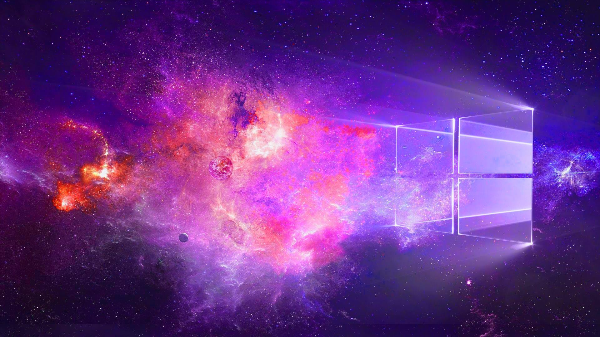 Windows 10 Wallpaper Purple Supportive Guru