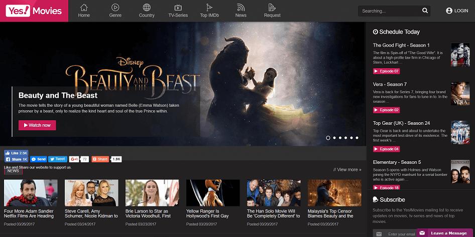 Movie stream sites