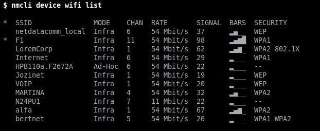 nmcli NetworkManager Ubuntu