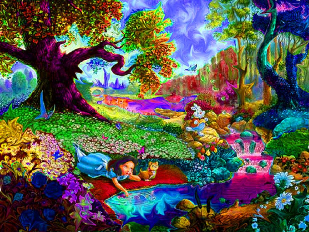 Beautiful Trippy Background