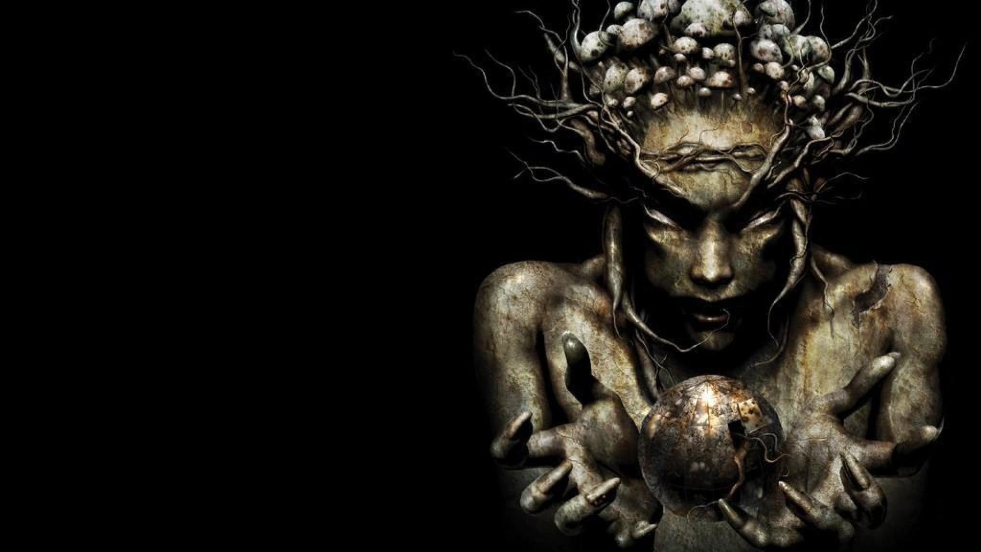 Dark Psychedelic Wallpaper Hd