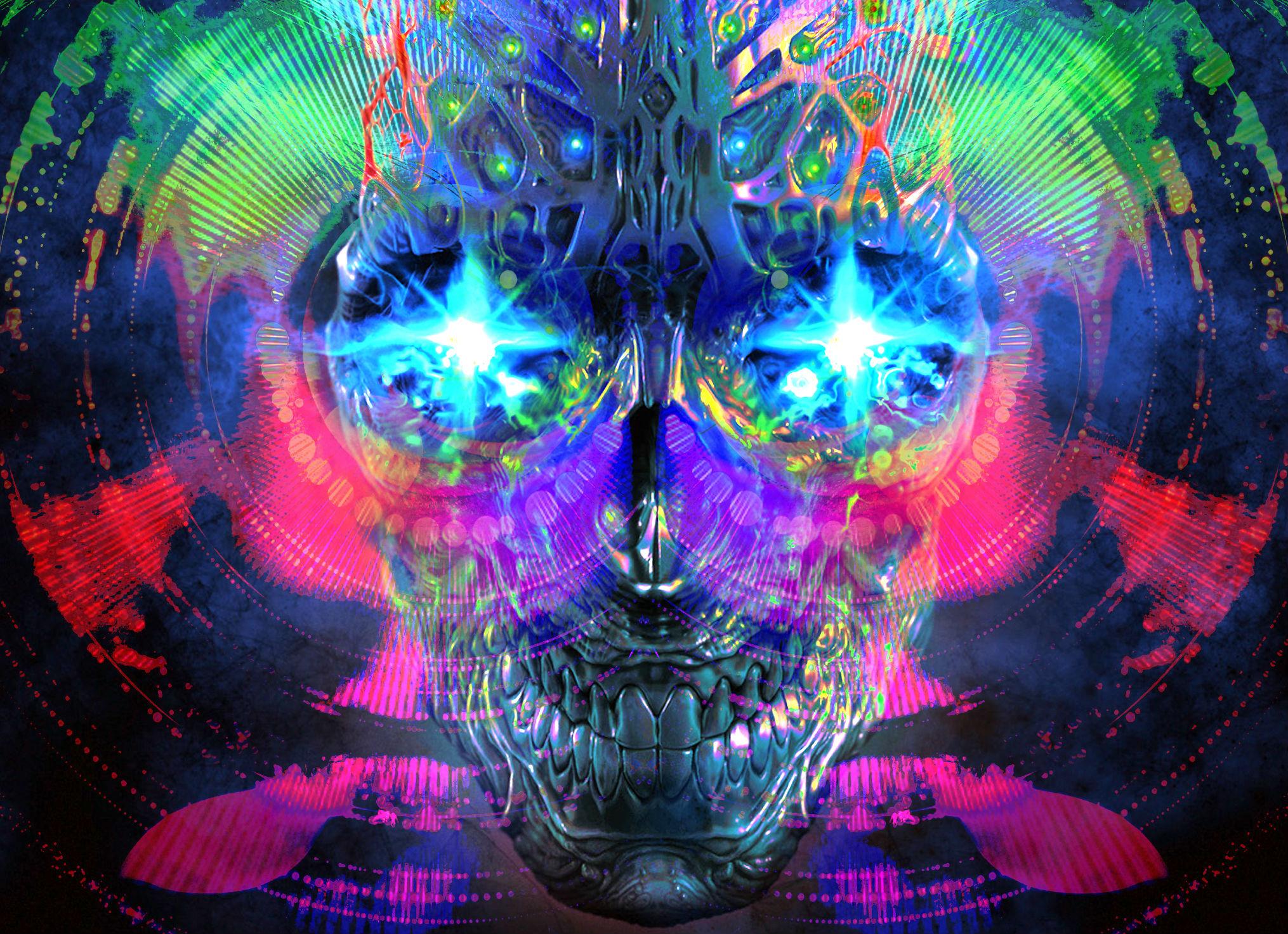 Dark Psychedelic Wallpaper Iphone