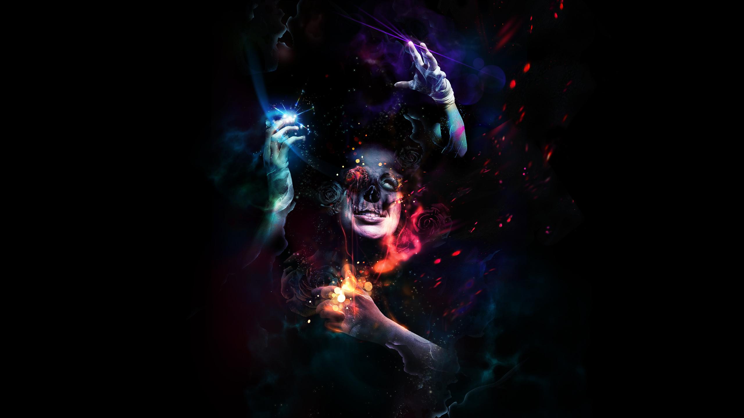 Dark Psychedelic Wallpaper