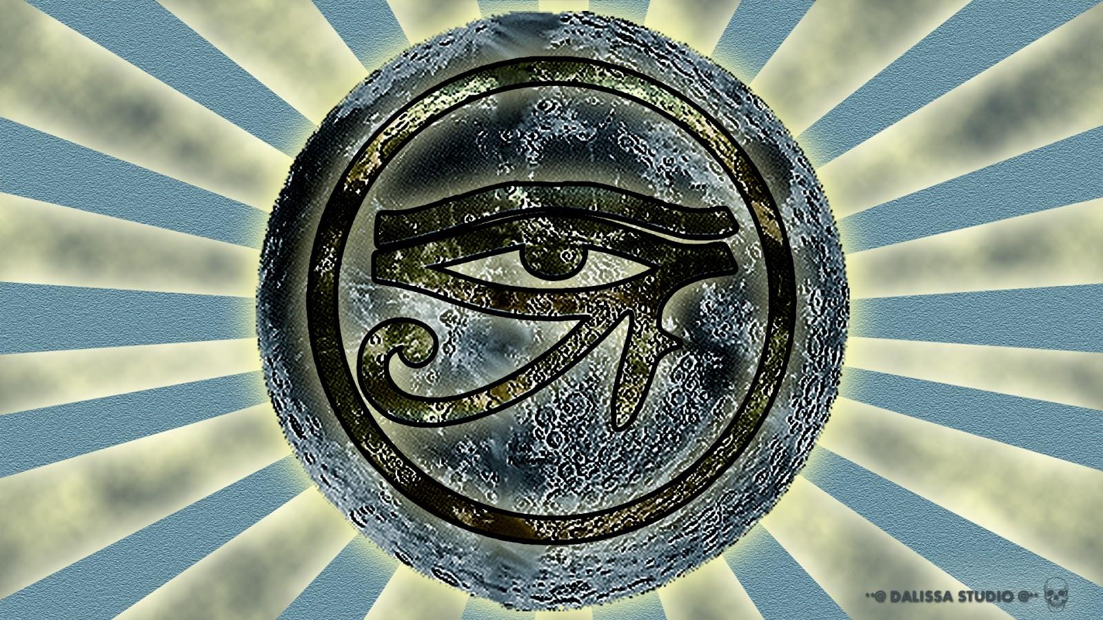 Eye Of Horus Trippy Wallpaper