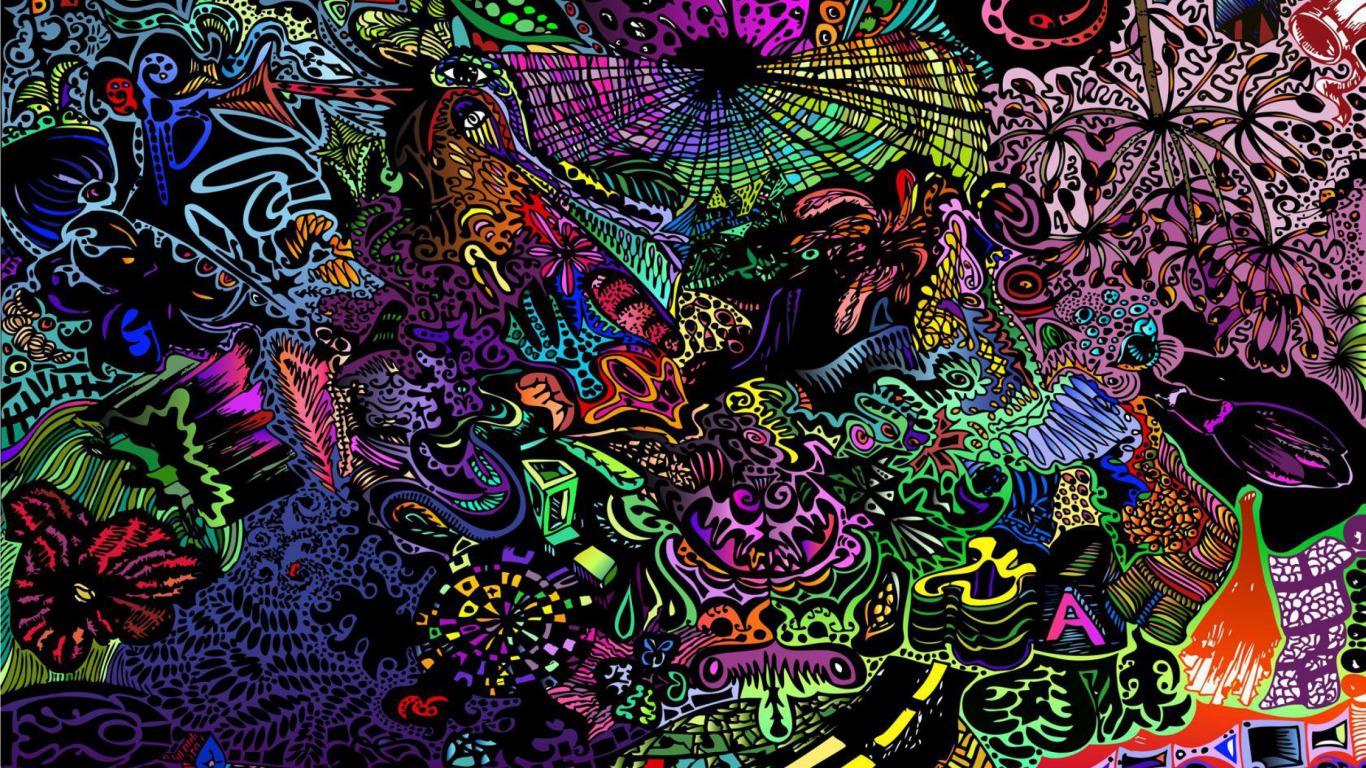 Gs5 Trippy Wallpaper