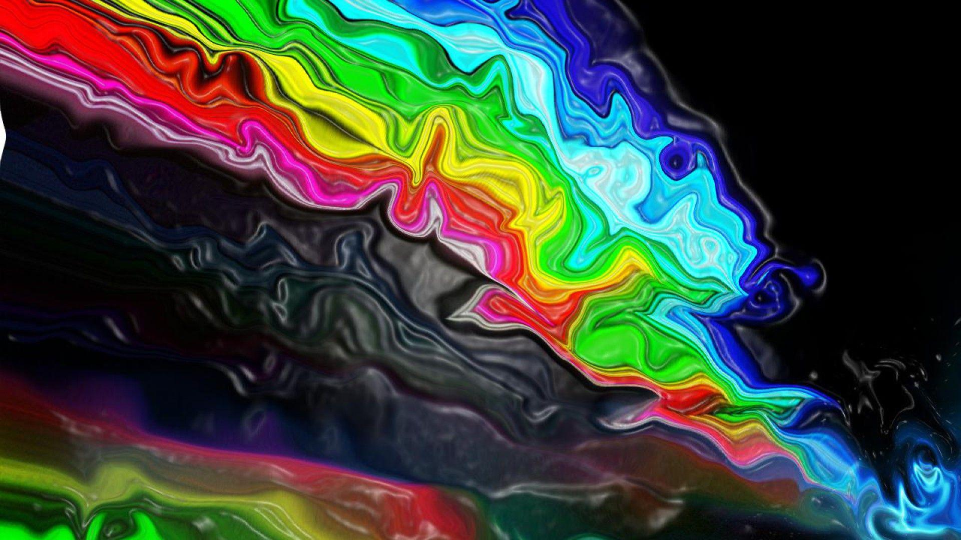 Liquid Trippy Wallpaper