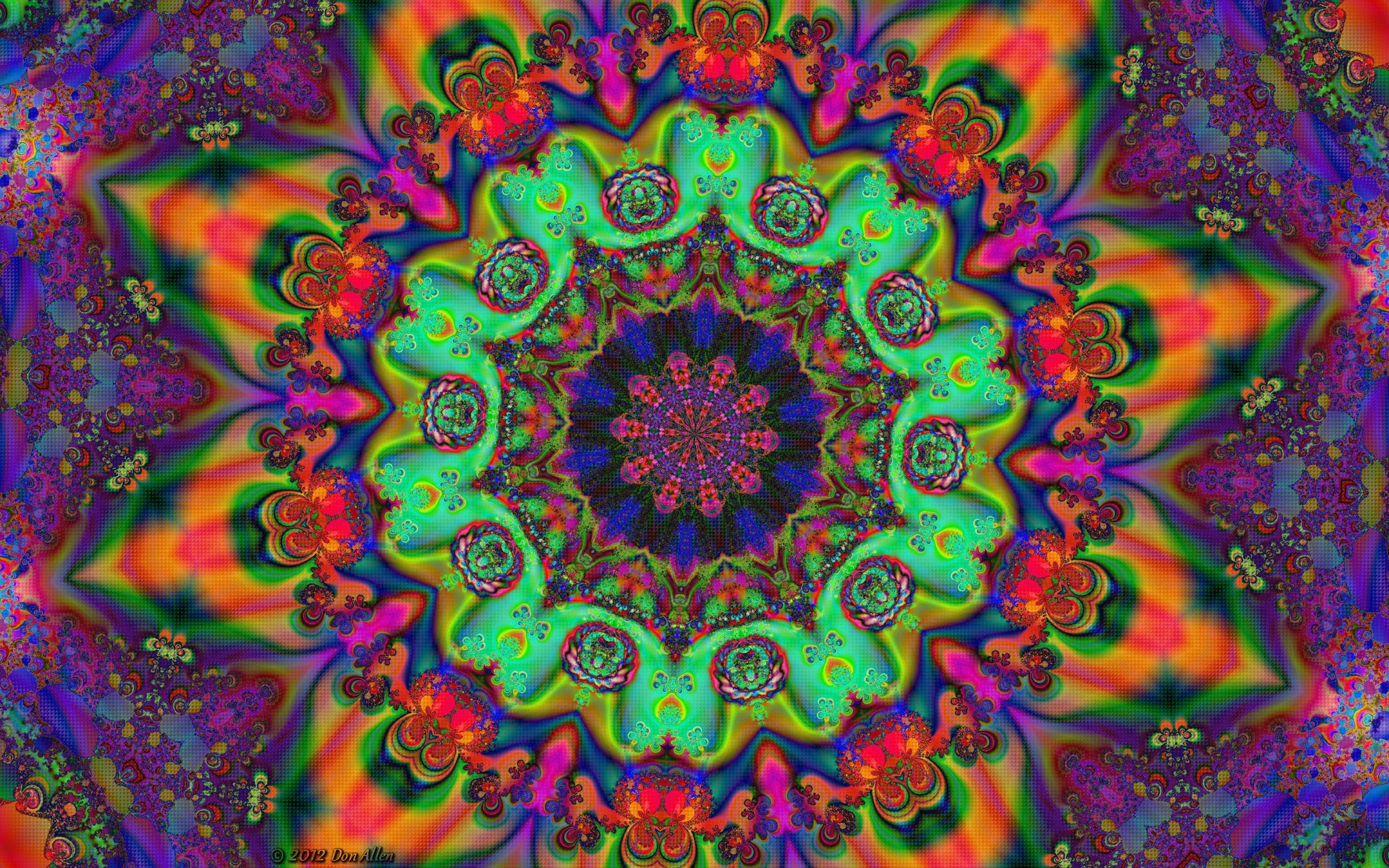 Mandala Trippy Wallpaper