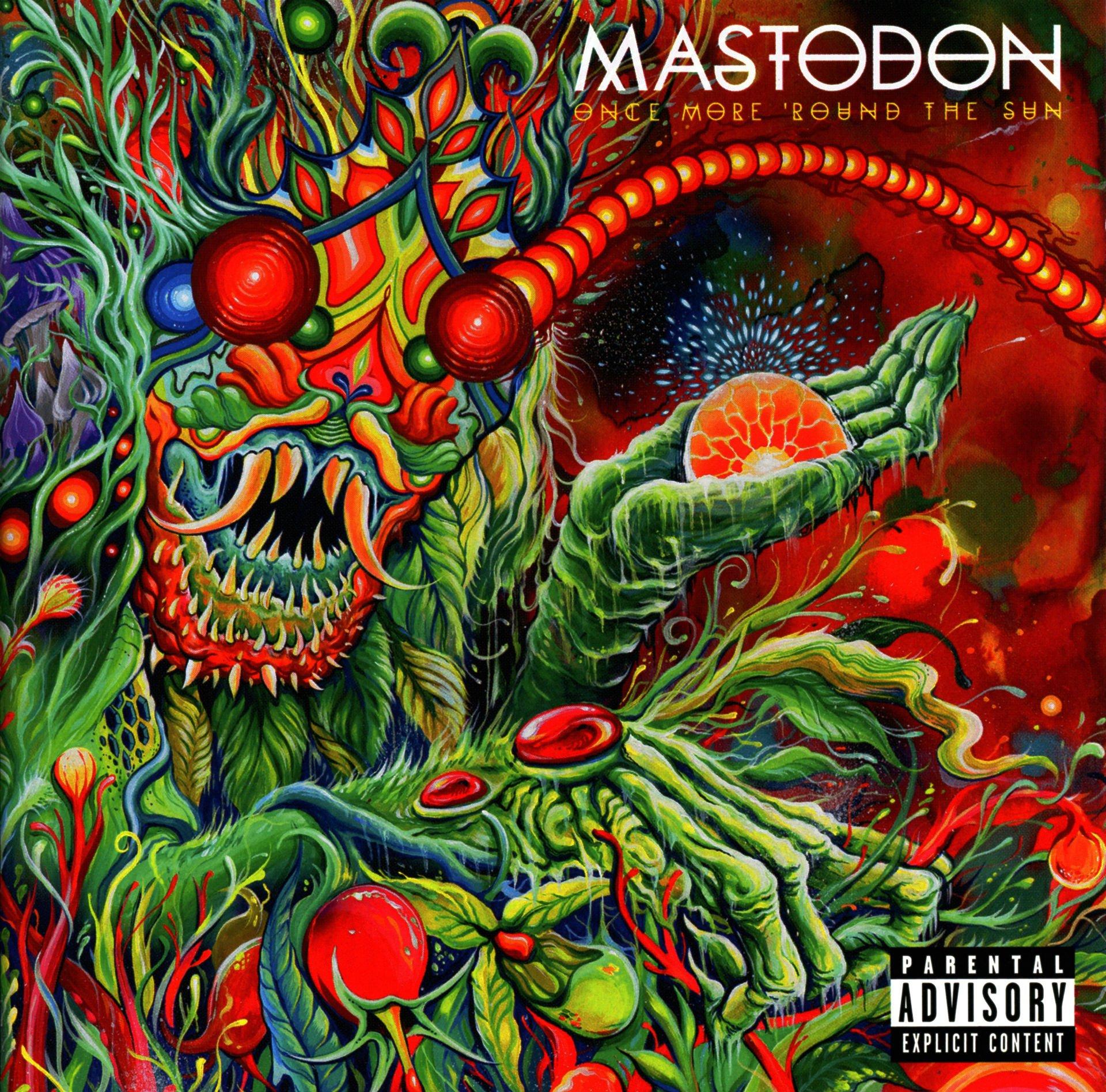 Mastodon Psychedelic Wallpaper