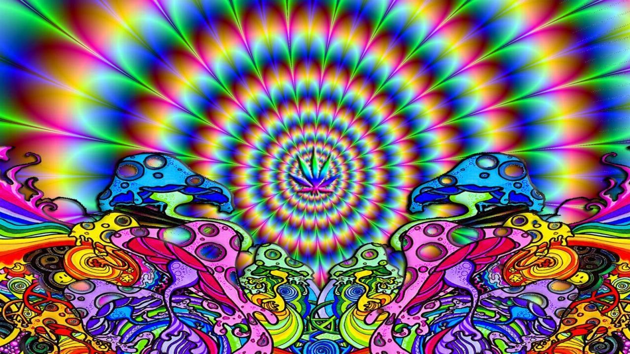 Shroom Trippy Background