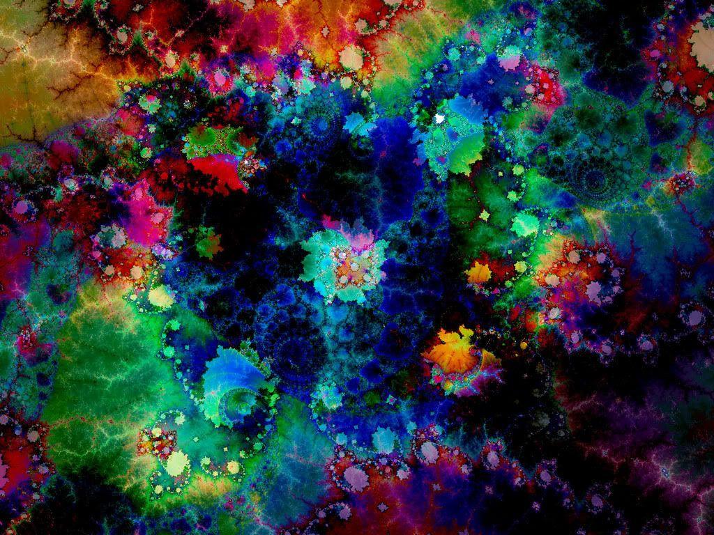 Spiritual Trippy Background