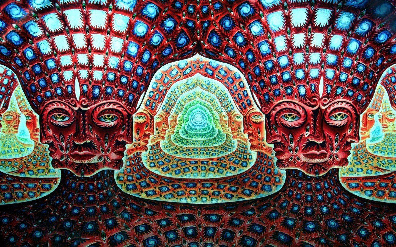 Trippy Background Buddha