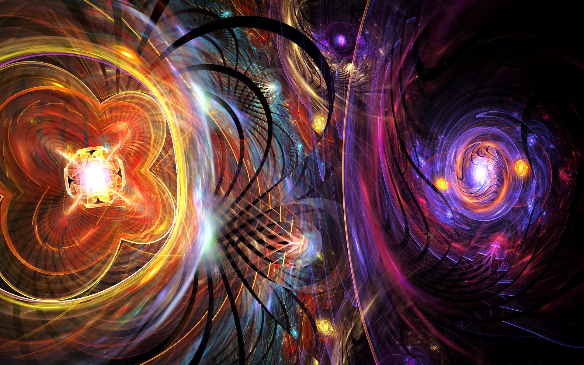 Trippy Background Wallpaper