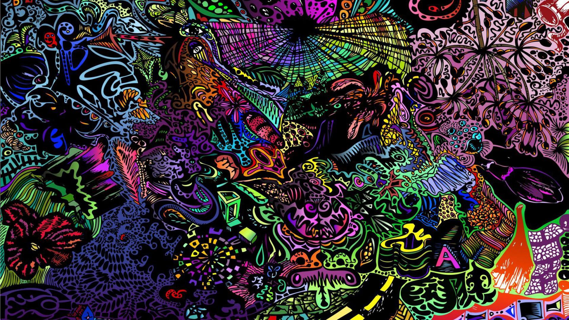 Trippy Wallpaper 1080