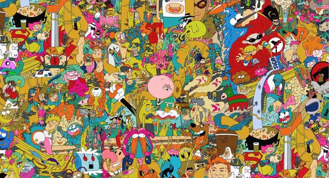 Weird Trippy Wallpaper