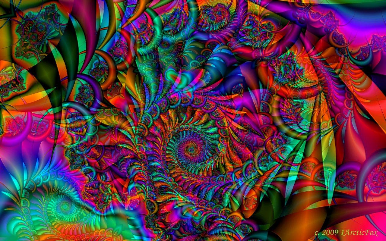 Woodstock Psychedelic Wallpaper