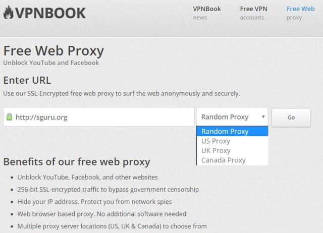 Free web proxy for porn