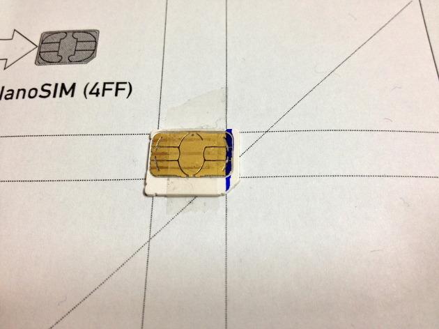 trace sim card template