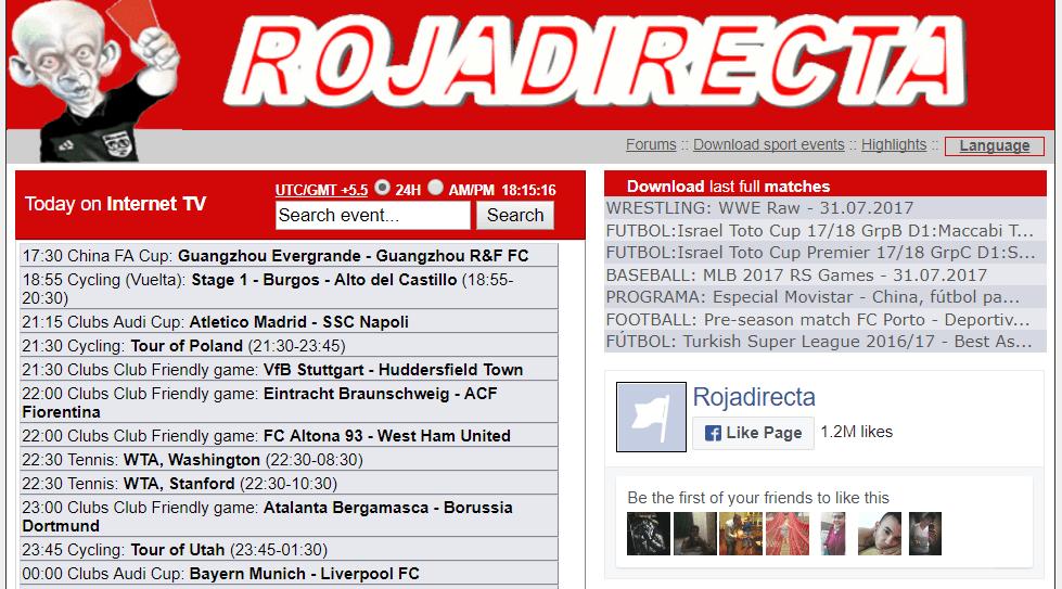 30+ Fast ROJADIRECTA Proxy & Mirror Sites List 2017