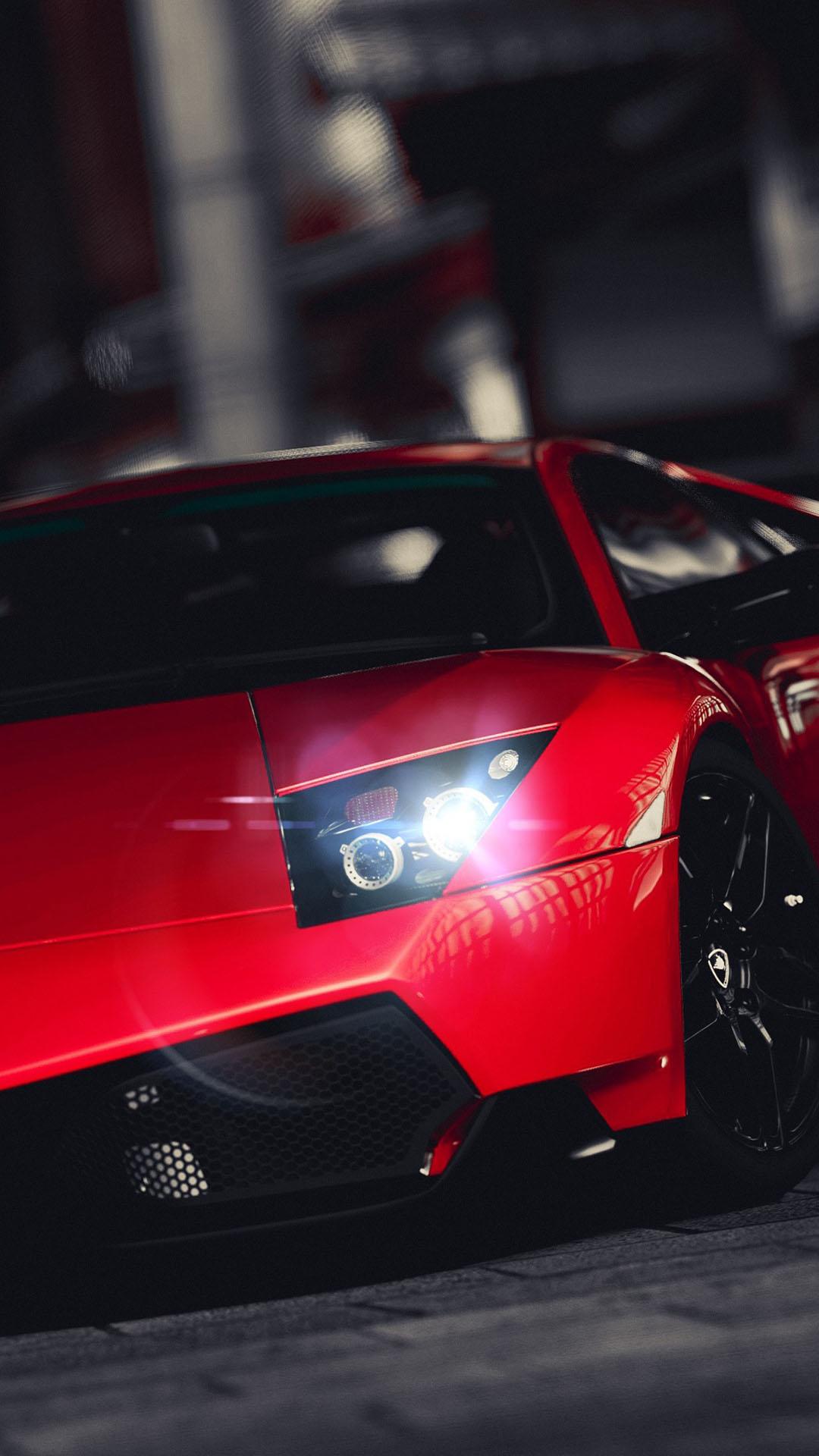 Hd iphone wallpaper lamborghini veneno bright red iphone 6 - Lamborghini veneno wallpaper android ...