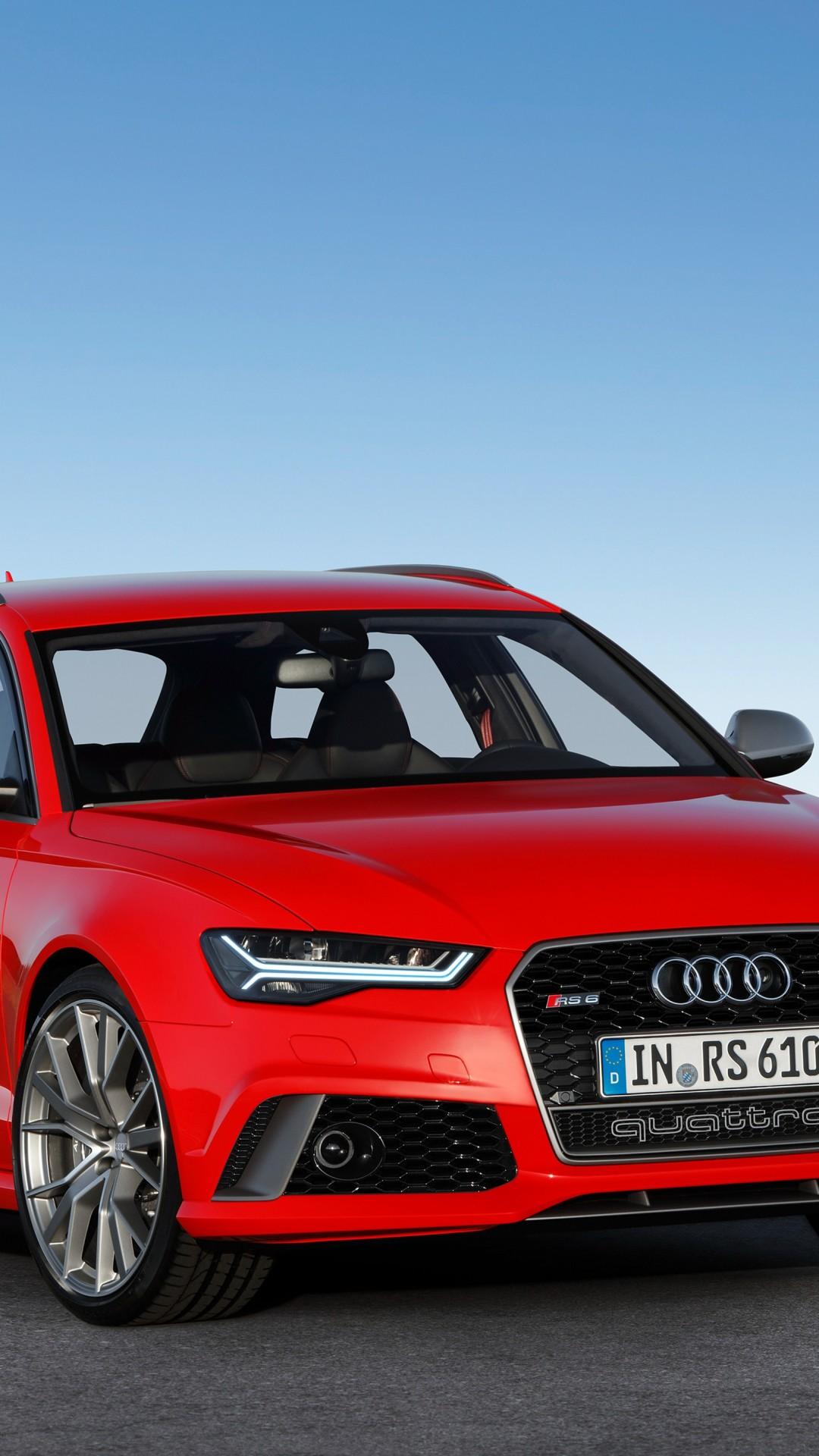 Luxury Wallpaper Audi Rs6 Red Luxury Cars Sky