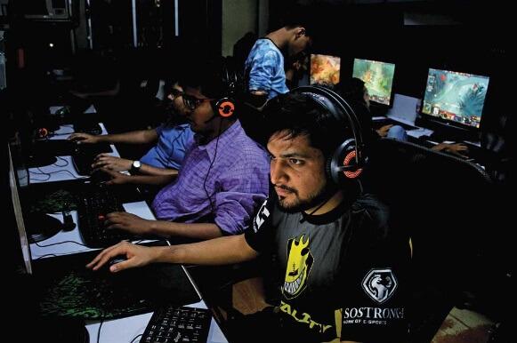 online-gamer