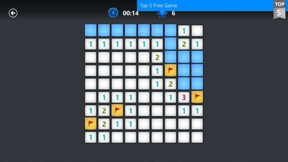 Microsoft Minesweeper Windows 10 Game