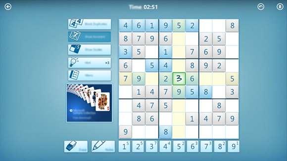 Windows Sudoku Windows 10 Oyunu