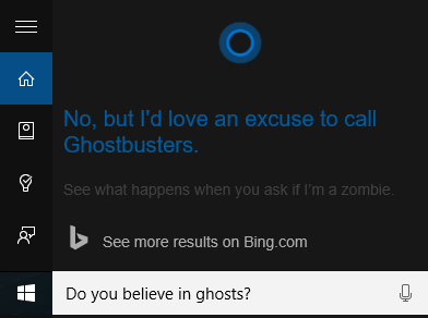 Cortana Funny Question 3