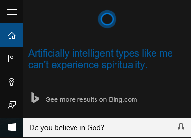 Cortana Funny Questions 1