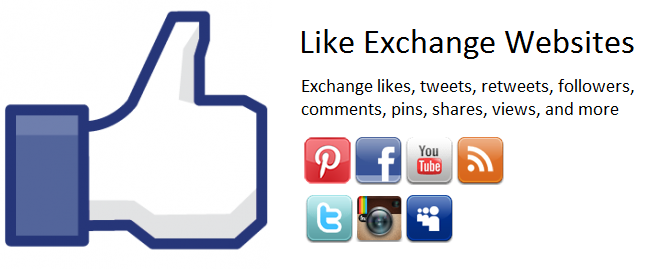 Exchange Likes Sites