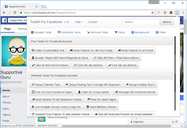 Facebook Social Toolkit (FST)