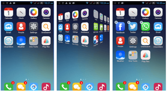 One Launcher iOS Launcher Android