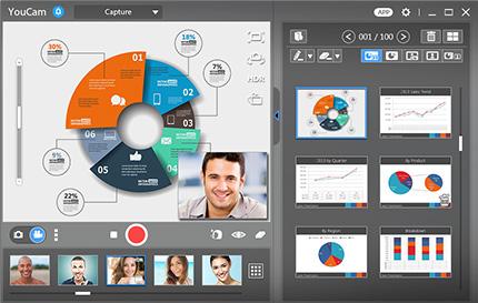 powerpoint video presentation cyberlink youcam 7
