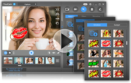 real time video effect cyberlink youcam 7