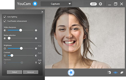 smart video enhancement cyberlink youcam 7