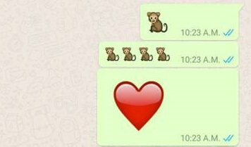 big whatsapp emoji