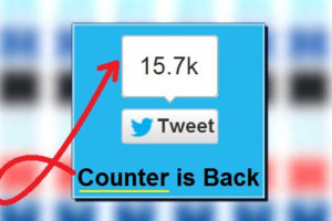 Twitter Button Share Count