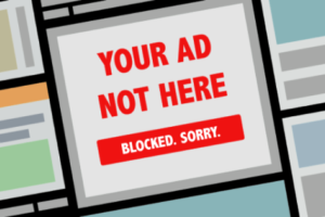 Your Ad is Blocked - Sincerely, Adblock