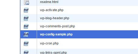 Config Sample