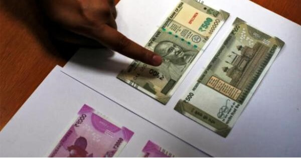 How To Distinguish 'Real' New Rs. 500/2000 Indian Currency Notes From Fake Ones