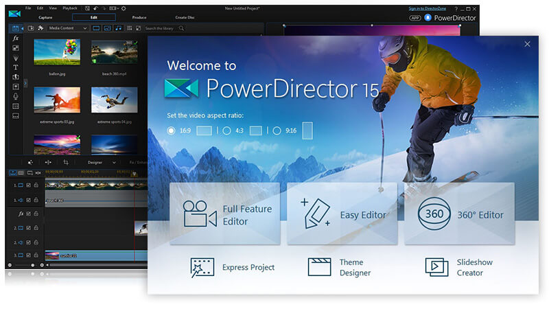 CyberLink PowerDirector Video Editor
