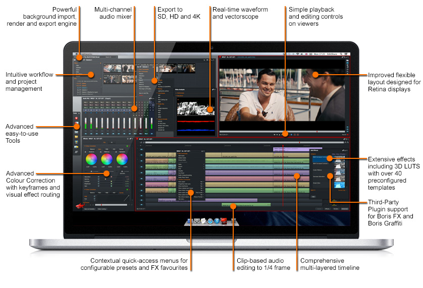 Lightworks Professional Video Editor