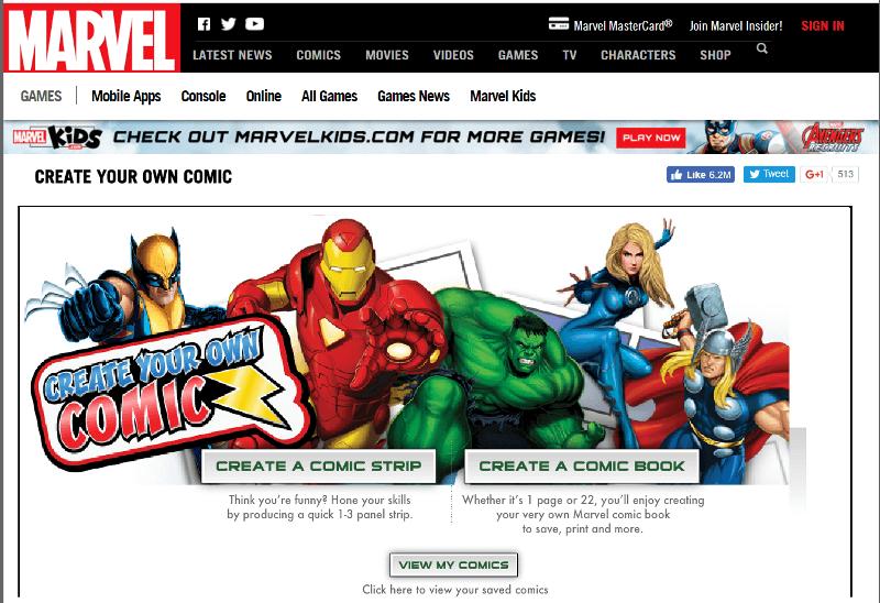 Free Printable Comic Book Templates!