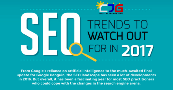 Infographic: Top 8 SEO Trends That You MUST Follow To Rank High on Google in 2017