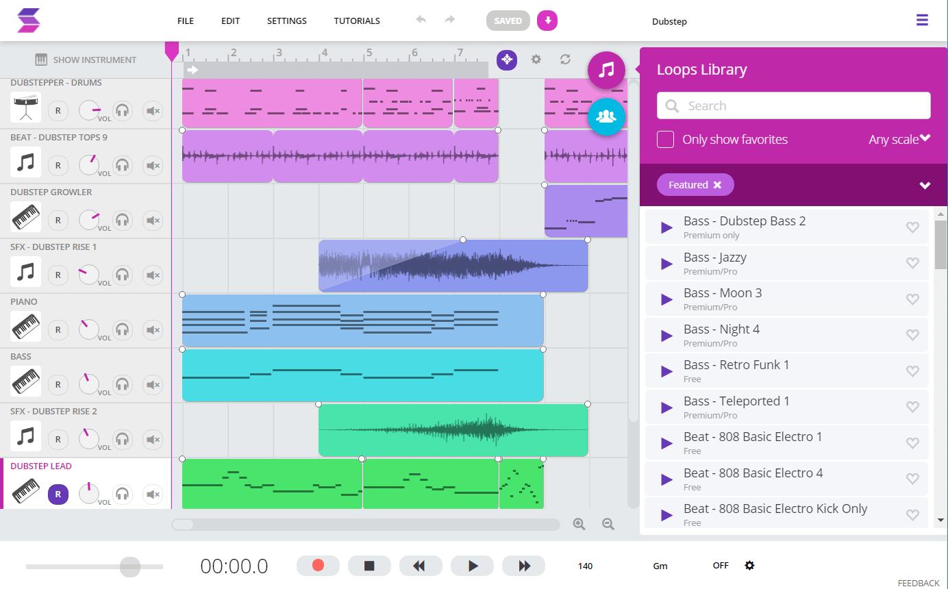 Soundtrap Music Creator