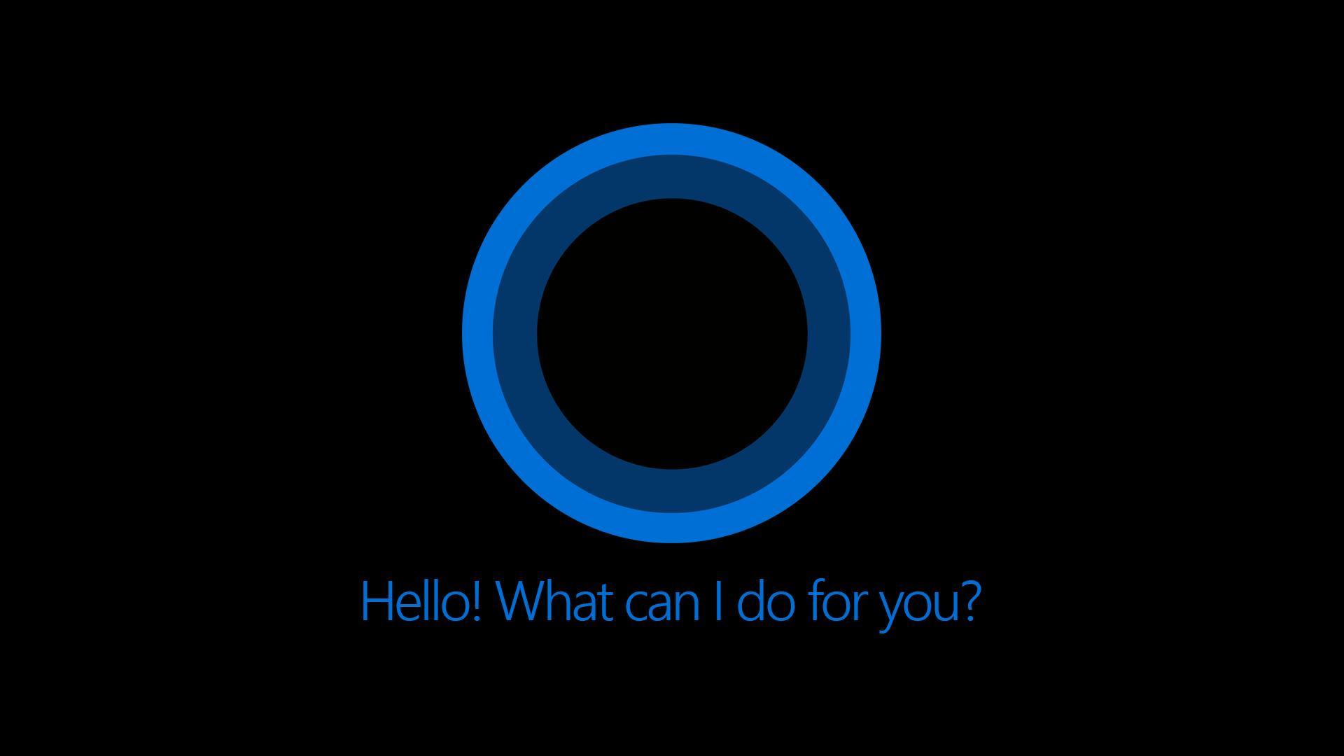 Cortana Windows 10 Wallpaper Supportive Guru