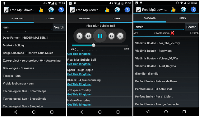 Free Mp3 Downloads Android App